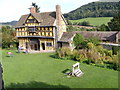 SO4381 : Stokesay Courtyard by Gordon Griffiths