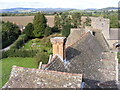 SO4381 : Stokesay Roofs by Gordon Griffiths