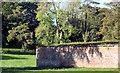 J4481 : Wall, Ballyrobert near Helen's Bay by Albert Bridge
