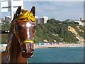 SZ0890 : Bournemouth: merry-go-round horse on the pier by Chris Downer
