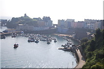 SN1300 : Tenby Harbour by N Chadwick