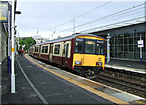 NS5566 : Partick railway station by Thomas Nugent