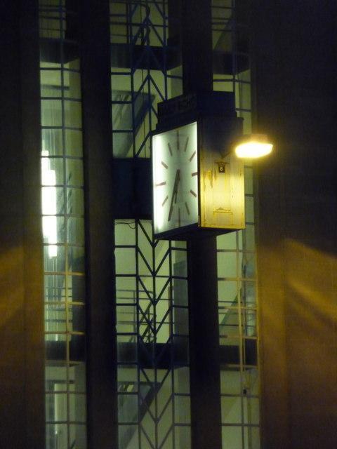 Bournemouth: the Echo clock