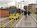 SJ9399 : Disembarking at Ashton by David Dixon