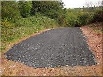 SX9066 : New road, former Barton tip by Derek Harper