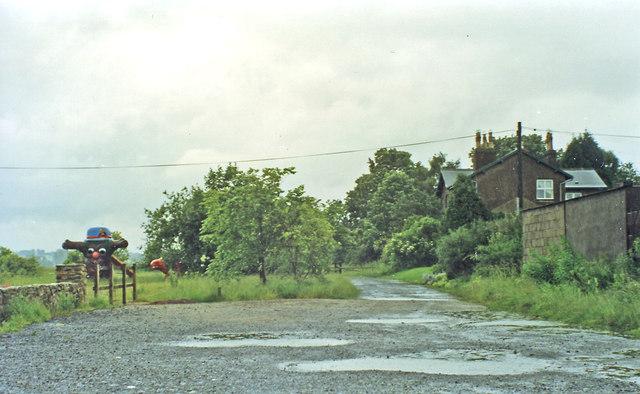 Site of former Hunwick station, 1997