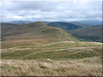 NY5305 : The ridge to High House Bank by David Purchase