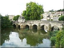 ST8260 : The bridge, Bradford on Avon by Humphrey Bolton