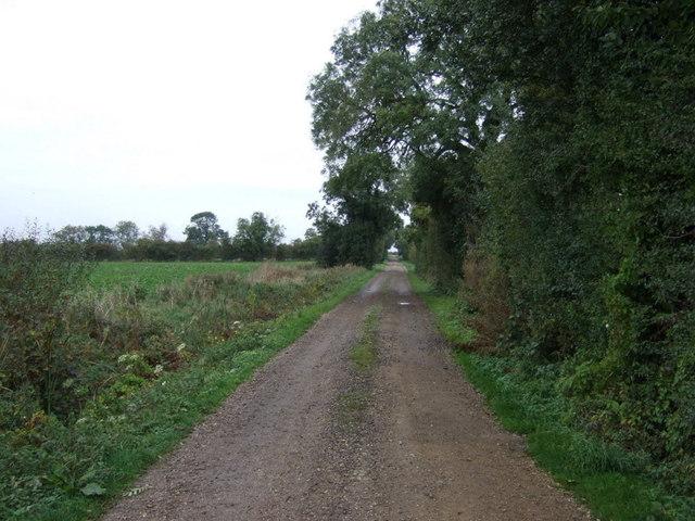 Track off Dyke Drove