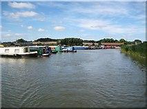 SP9122 : Grand Union Canal: Grove Lock Marina by Nigel Cox