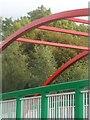SH5968 : Rhan o'r bont fecio yn Felin Hen / Part of cycle bridge at Felin Hen by Ceri Thomas