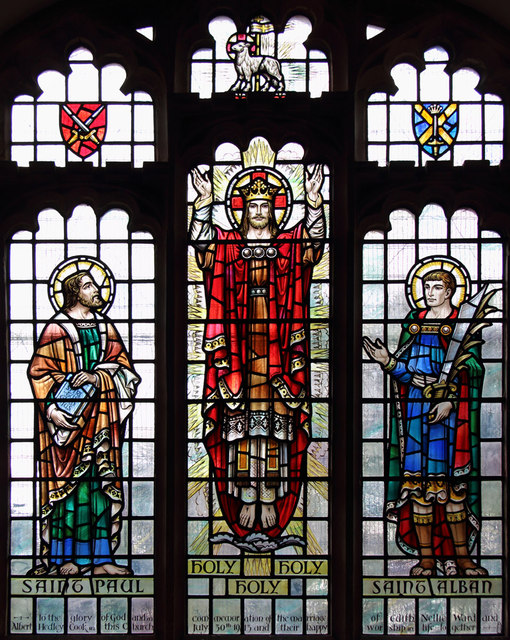 St Peter, Great Totham - Stained glass window
