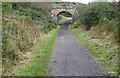 NZ9701 : Bridge over the cinder track by Pauline E