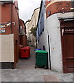 ST3188 : Southern end of Carpenters Arms Lane, Newport by Jaggery