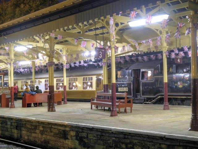 Night Train, East Lancashire Railway