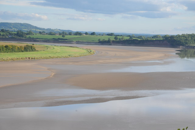 The River Severn at low tide