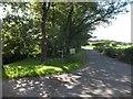SS8013 : B3042 at Millmoor Farm and Two Moors Way by David Smith