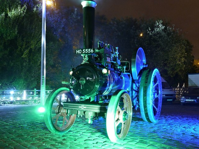 """Traction Engine """"Pearl"""", Bury Transport Museum"""