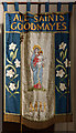 TQ4686 : All Saints, Goodmayes - Banner MU by John Salmon