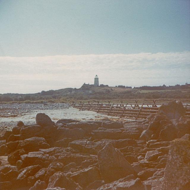 The Periglis breakwater in 1972