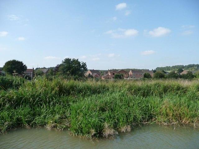 Houses off Farm Lane, Great Bedwyn