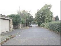 SE0823 : Prince's Gate - looking towards Manor Heath Road by Betty Longbottom
