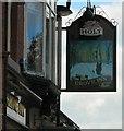 SJ8798 : Grove Inn Sign (East face) by Gerald England
