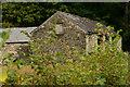SH5945 : Barn Near Aberglaslyn Hall by Peter Trimming