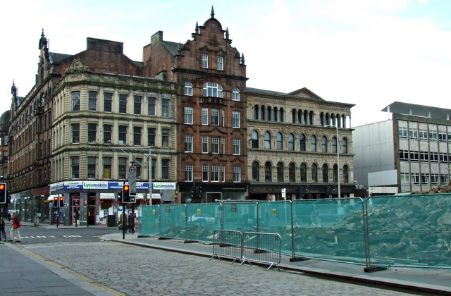 Trongate demolition site