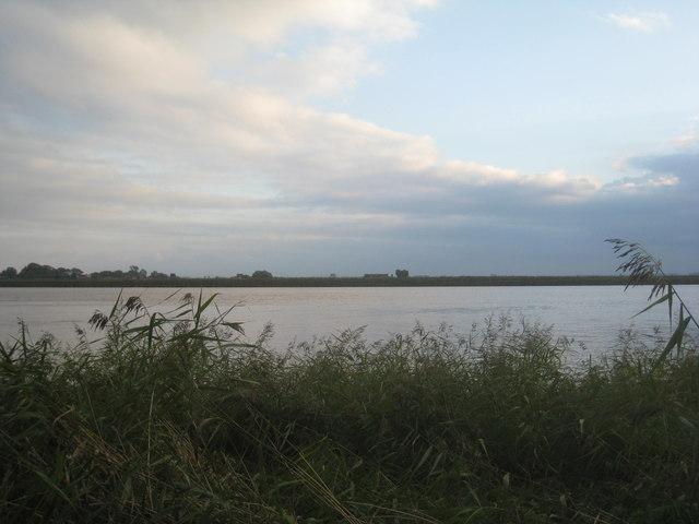 A sliver of land