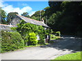 SX0977 : House at Gam Bridge in the Camel valley by Rod Allday