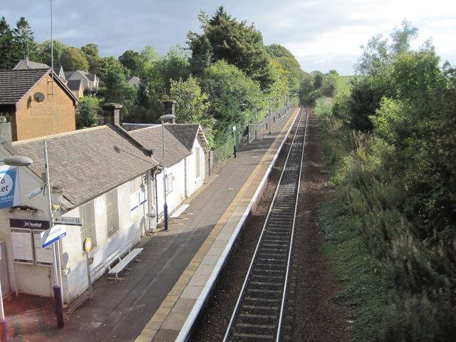 Thorntonhall railway station, South Lanarkshire