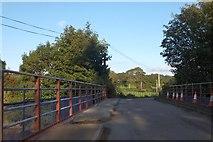 SS6613 : Kersham Bridge over River Taw by David Smith