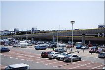 TQ3303 : Car park, Brighton Marina by N Chadwick