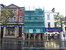 H4572 : Halifax under wraps, Omagh by Kenneth  Allen
