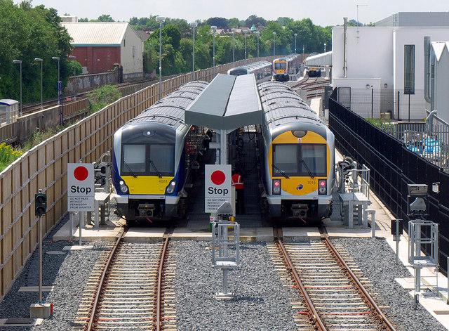 Trains, Adelaide maintenance depot Belfast