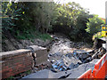 NZ7119 : Flood  Damage  Skinningrove by Martin Dawes