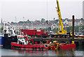 J5082 : Jack-up barge, Bangor by Rossographer