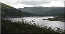 SK1789 : Derwent reservoir and the dam wall by Dave Pickersgill