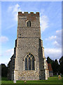 TL9141 : All Saints Church Tower by Adrian Cable