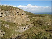 SH7683 : Bishop's Quarry by Jonathan Wilkins