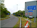 ST5789 : Entrance slip road to the M48 at junction 1, Aust by Jaggery