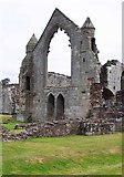 SJ5415 : The ruined Haughmond Abbey, near Haughton, Shrops by P L Chadwick