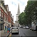 TQ3381 : Spitalfields: Brushfield Street and Christ Church by John Sutton