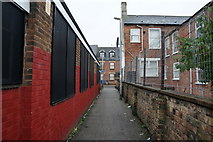 TA0828 : A path leading to Coltman Street, Hull by Ian S