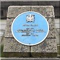 SJ8398 : Blue plaque: Peter Green by Gerald England