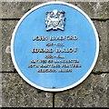SJ8398 : Blue plaque: John Bradford & Edward Barlow by Gerald England