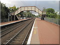 NS7465 : Coatdyke railway station, North Lanarkshire by Nigel Thompson