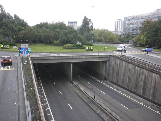 A167(M) looking north