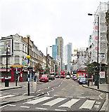 TQ3382 : Bethnal Green Road by John Sutton
